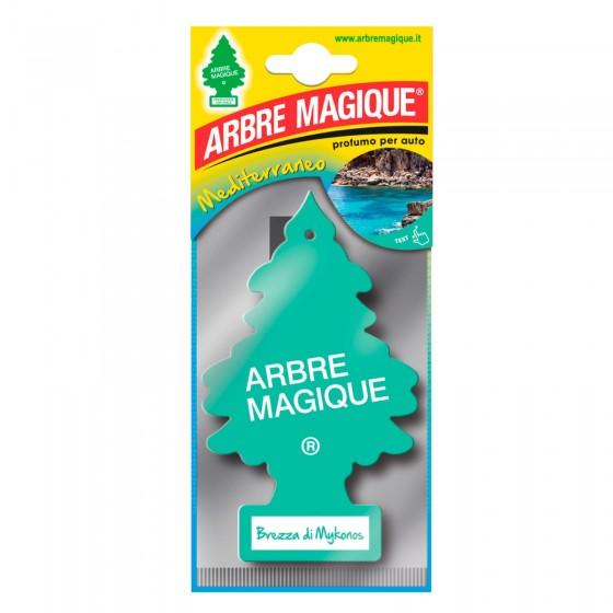 Arbre Magique Mediterraneo Profumatore Solido per Auto Fragranza Brezza di Mykonos Lunga Durata
