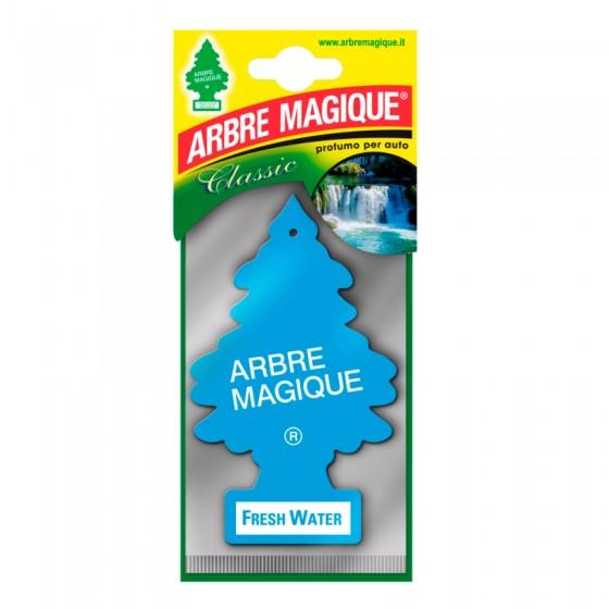 Arbre Magique Classic Profumatore Solido per Auto Fragranza Fresh Water Lunga Durata