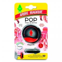 Arbre Magique Pop Profumatore Solido per Auto Fragranza Exotic Lunga Durata
