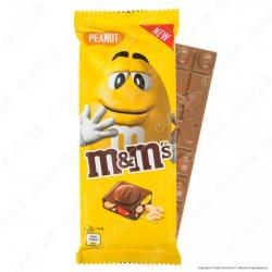 M&M's Peanut Tavoletta di Cioccolato al Latte con Confetti alle Arachidi - Confezione da 165g