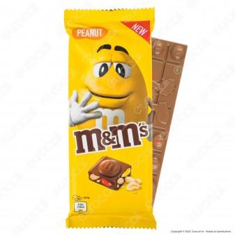 M&M's Peanut Tavoletta di Cioccolato al Latte con Confetti agli Arachidi - Confezione da 165g