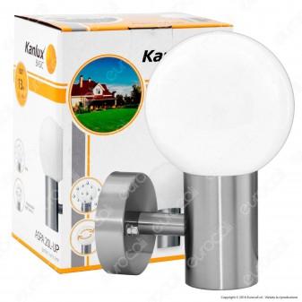 Kanlux ASPA 20L-UP Portalampada da Giardino per Lampadine E27