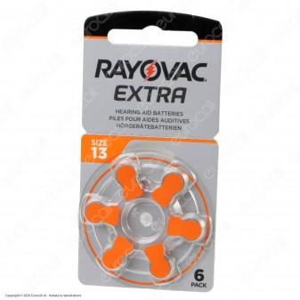 Rayovac Extra Misura 13 - Blister 6 Batterie per Protesi Acustiche