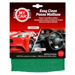 My Car Easy Clean Panno Multiuso in Microfibra per Interni ed Esterni Auto - Confezione da 1 Panno