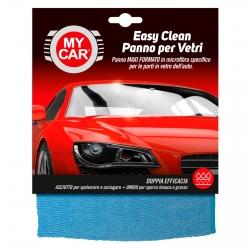 My Car Easy Clean Panno in Microfibra per Vetri Auto - Confezione da 1 Panno Maxi Formato