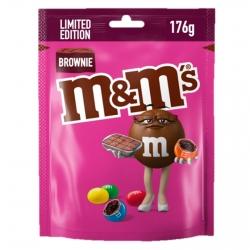 M&M's Brownie Confetti al Cioccolato con Ripieno al Gusto Brownie - Busta da 176g