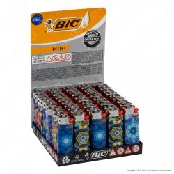 Bic Mini J25 Piccolo Fantasia Kaleidoscope - Box da 50 Accendini