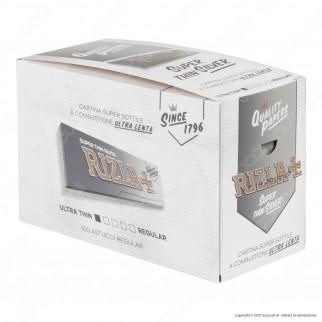 A00015002 - Cartine Rizla Silver Corte Argento - Scatola da 100 Libretti