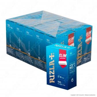 C00003008 - Rizla Slim 6mm - Box 10 Scatoline da 150 Filtri