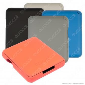 Tobox Portatabacco in Plastica per Filtri Cartine e Accendino