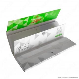PROV-D00056037 - Cartine Gizeh Super Fine King Size Slim Lunghe e Filtri in Carta Libretto Magnetico - Scatola da 26 Libretti