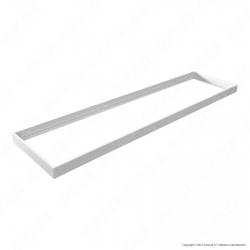 Life Supporto di Montaggio a Soffitto per Pannelli LED 120x30 - Mod. 39.9P034040AW