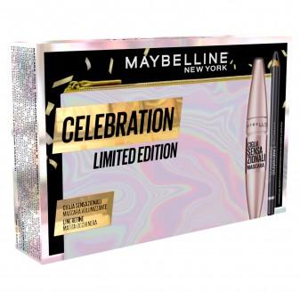 Maybelline New York Celebration Limited Edition Pochette + Mascara + Matita Coffret Ciglia