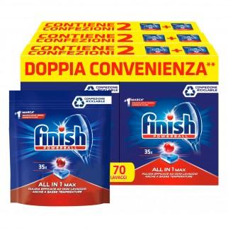Finish Powerball Tutto in 1 Max Regular per Lavastoviglie - 210 Pastiglie