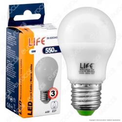 Life Serie GF Lampadina LED E27 6W Bulb A50