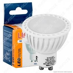 Life PAR16 Lampadina LED GU10 7W Faretto Spotlight 110° - mod. 39.910239C / 39.910239N / 39.910239F