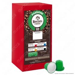 Baciato Caffè Linea Passione Decaffeinato Cialde Compatibili Nespresso - Confezione da 100 Capsule