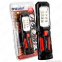 Velamp IS404 Lampada da Lavoro 1+8 LED Multifunzione - mod.IS404