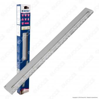 Velamp LT010 Barretta Magnetica Reglette 10 LED a Batteria