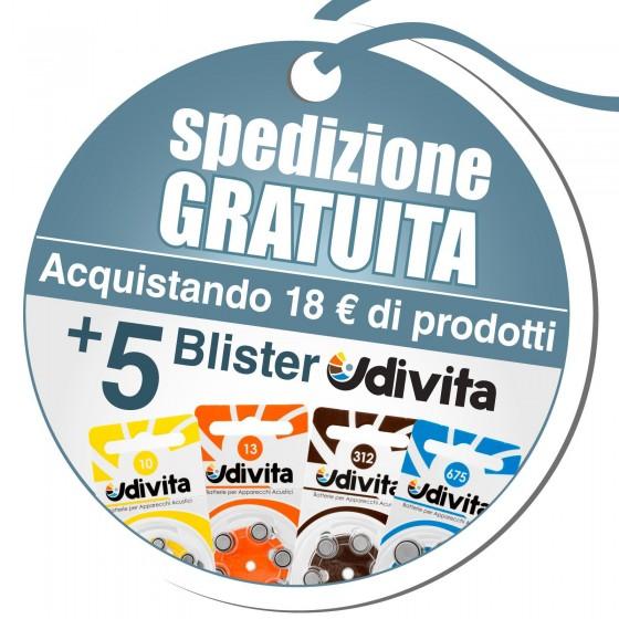 Spedizione Gratuita con un Acquisto di 18€ e 5 Blister Udivita - Codice UDI2
