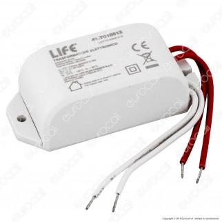 Life Trasformatore Elettronico 20-105W Per Uso Interno 11.3V a 2 Uscite con Cavi a Saldare