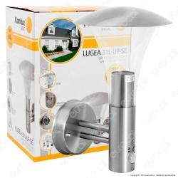 Kanlux LUGEA 31L-UP-SE Portalampada da Giardino Wall Light da Muro per Lampadine E27 con Sensore - mod.23531