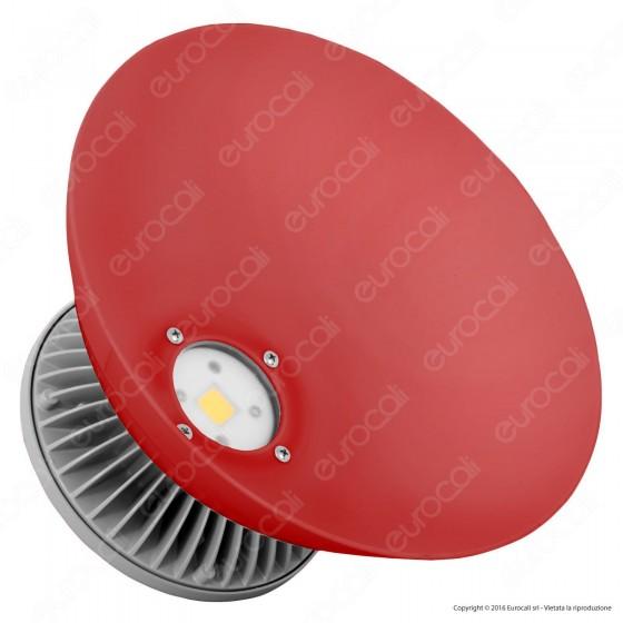 Century COLORFULL Rosso Lampada LED a Campana 30W COB Impermeabile