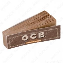 Ocb Virgin Easy Filtri In Carta Non Sbiancati - Pacchetto Singolo