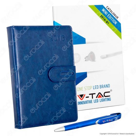 V-Tac Agenda Penna e Mini Catalogo