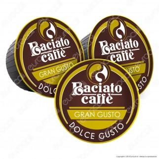 80 Capsule Baciato Caffè Gran Gusto Cialde Compatibili Necafè Dolce Gusto