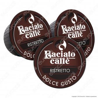80 Capsule Baciato Caffè Ristretto Cialde Compatibili Necafè Dolce Gusto