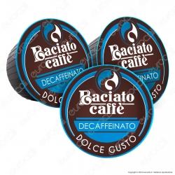 80 Capsule Baciato Caffè Decaffeinato Cialde Compatibili Nescafè Dolce Gusto