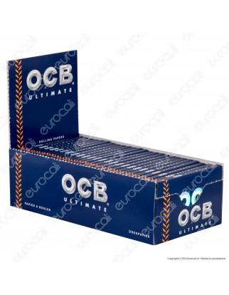 Cartine Ocb Ultimate Corte - Scatola da 50 Libretti