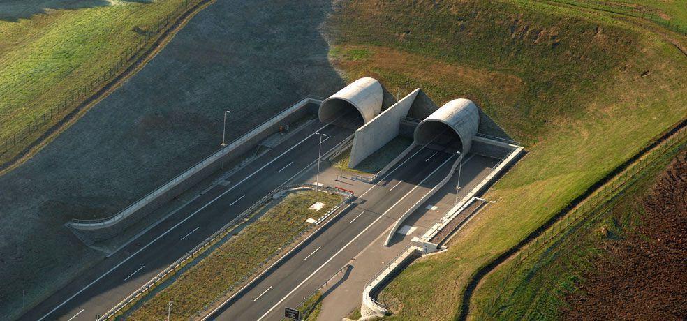 Tunnel Thüringer Schmücke