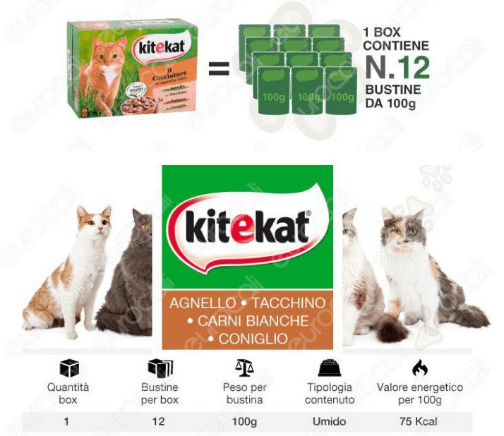 kitekat cibo umido gatti