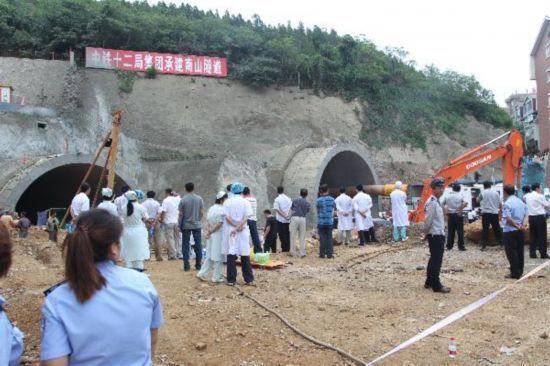 Tunnel Dalian Road in cina