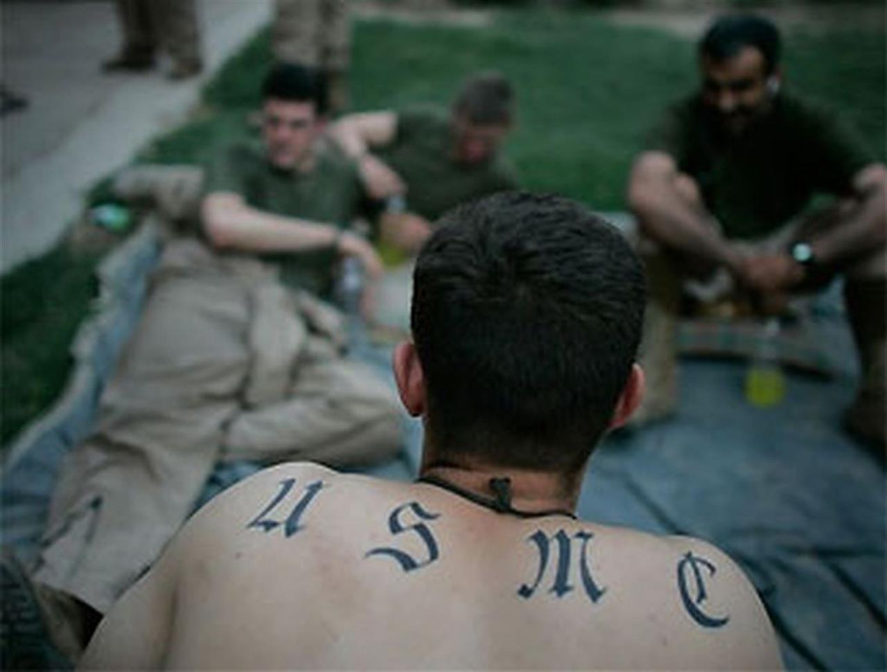 tatuaggi e militari