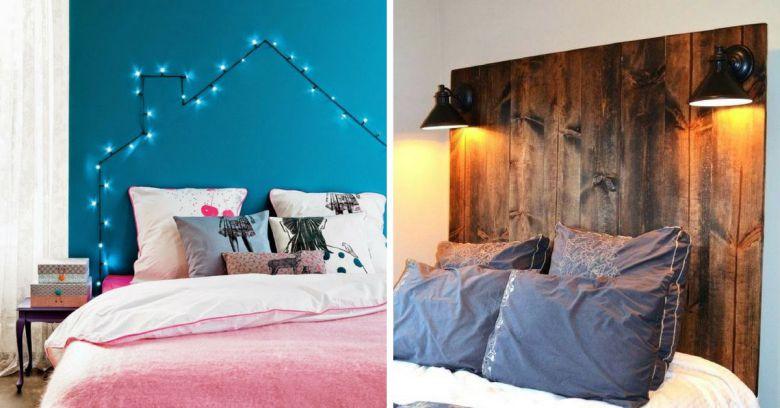 Testata Del Letto In Cartongesso : Come illuminare la testata del letto con idee uniche
