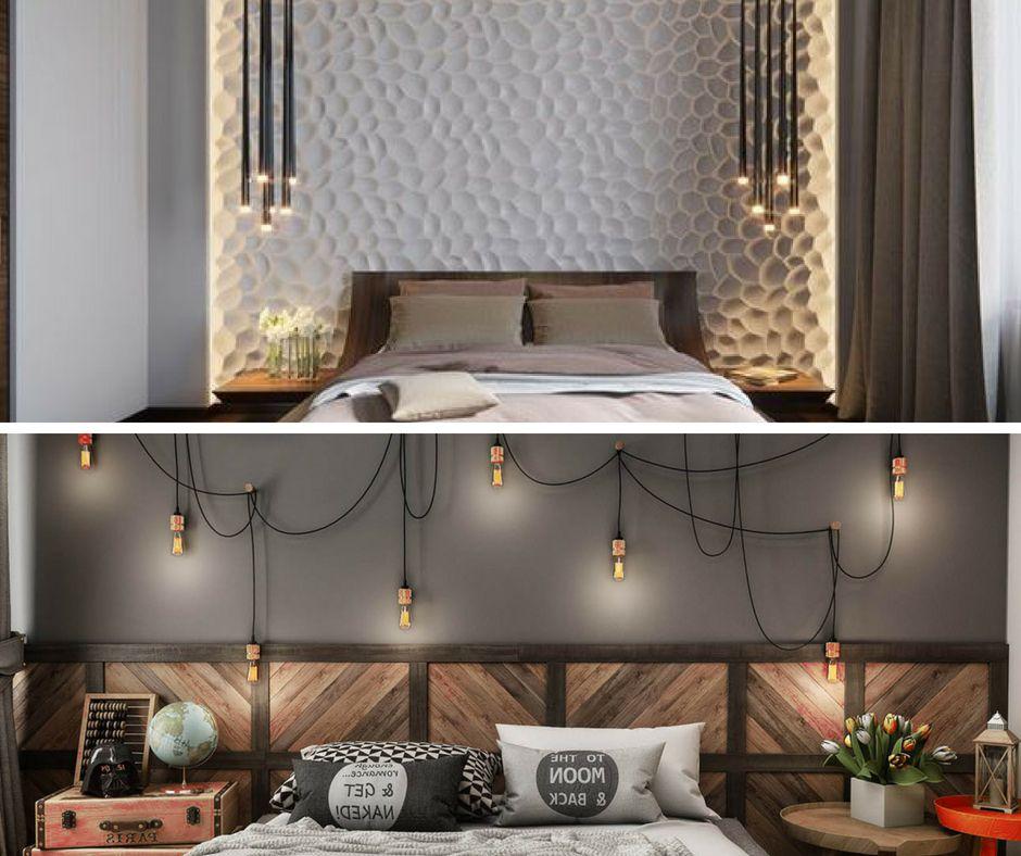 Come illuminare la testata del letto con 6 idee uniche - Testa del letto ...