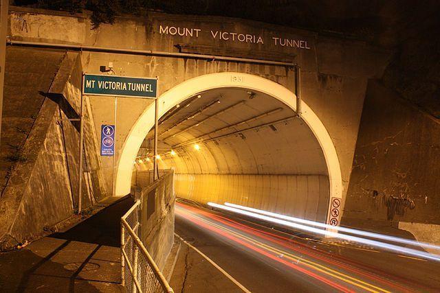 mt victoria tunnel nuova zelanda