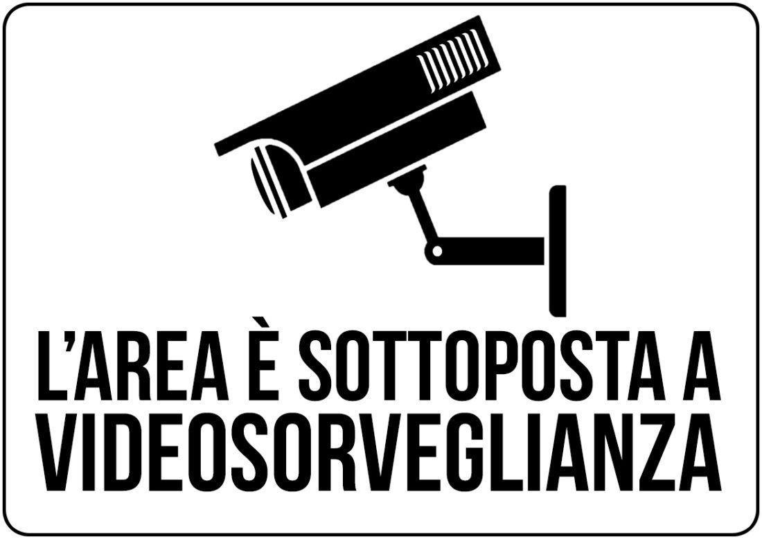 area sottoposta a videosorveglianza