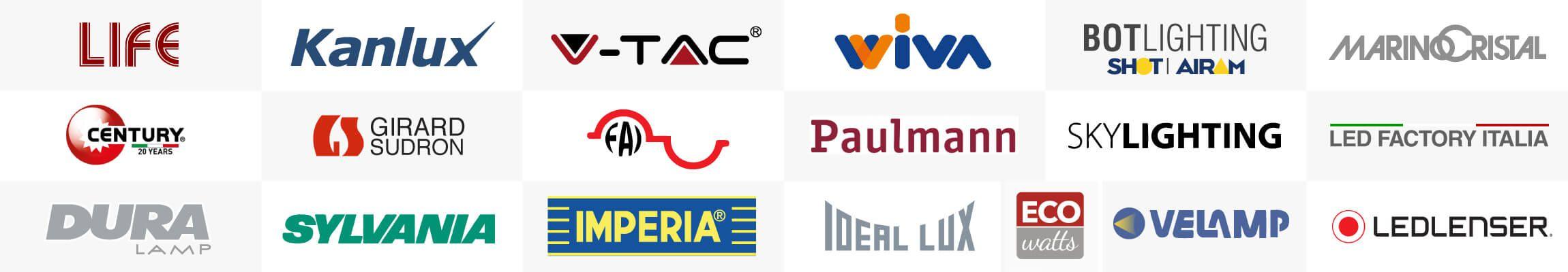 Lampadine LED: i Brand professionali su Eurocali.it