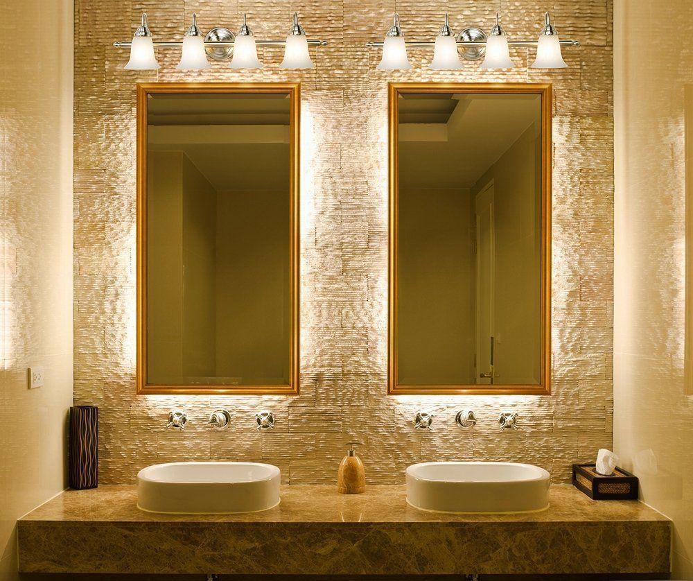 luce calda o fredda in bagno