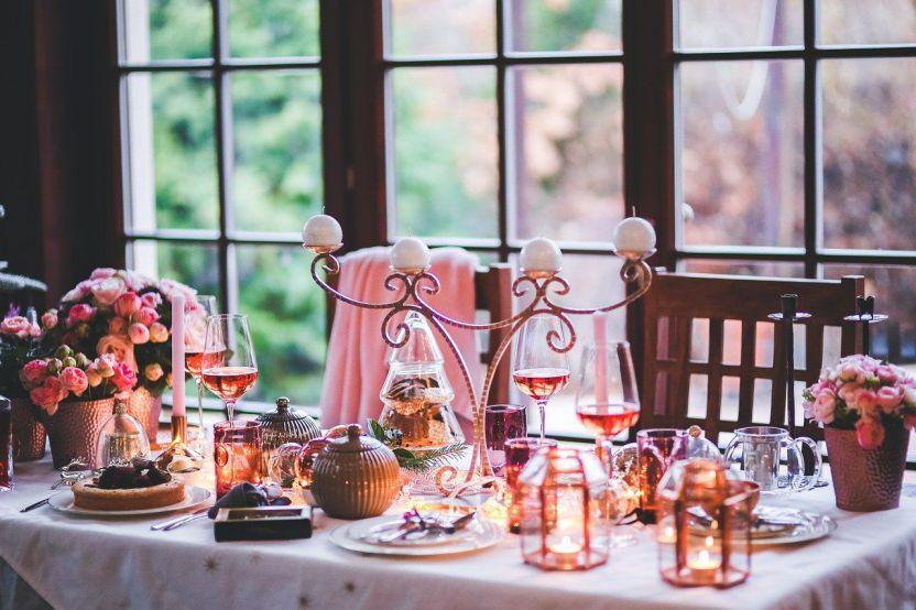 Decorazione tavola Natale
