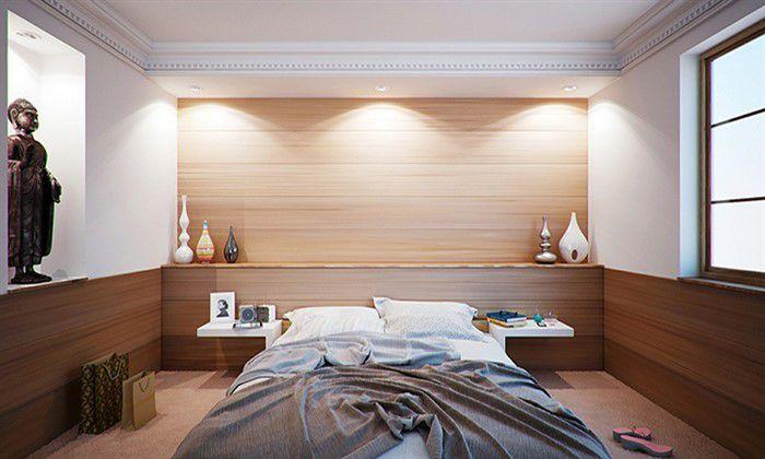 Come illuminare la testata del letto con idee uniche