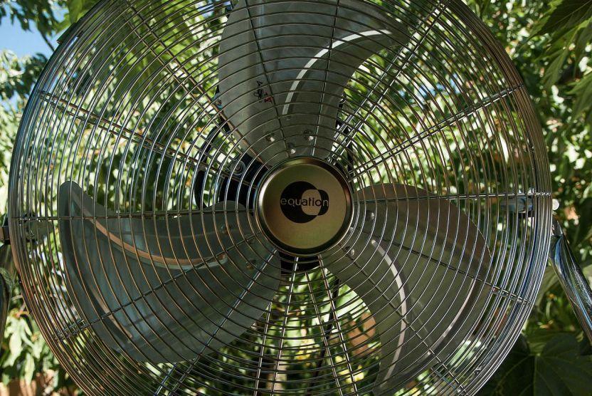 Dettaglio di un ventilatore