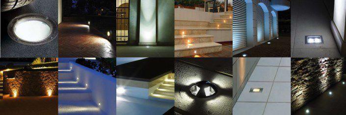 Come illuminare gli spazi esterni con l illuminazione a led - Illuminazione a pavimento per esterni ...