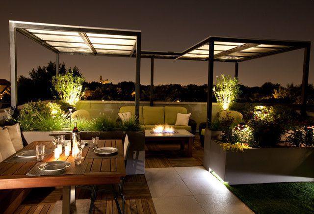 Come illuminare un Terrazzo con l\'illuminazione al LED