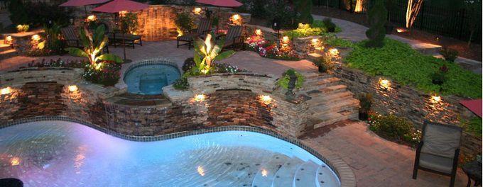 Illuminazione led per il tuo giardino consigli utili - Illuminare il giardino ...
