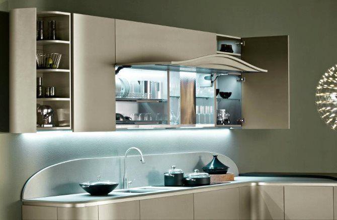 Illuminazione Tavolo Cucina : Come illuminare una cucina piccola con lilluminazione a led?
